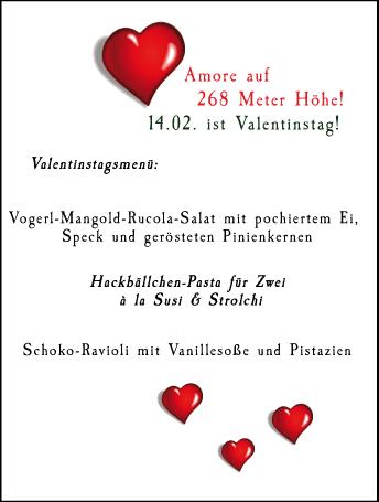Das Schutzhaus Valentinstag