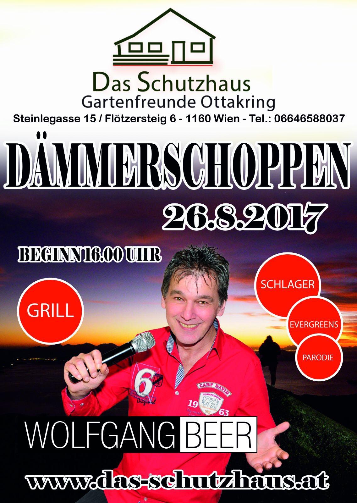 Wolfgang Beer D�mmerschoppen - Das Schutzhaus