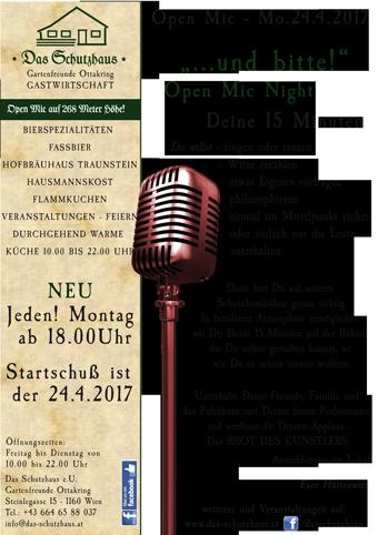Jeden Montag Open Mic Night